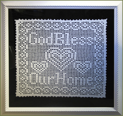 bless home lace design