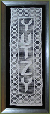name lace design